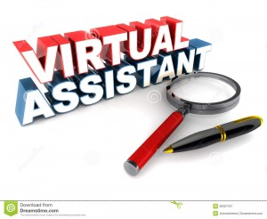 virtual-assistant-va-words-magnifying-glass-ball-point-pen-clean-surface-36307181